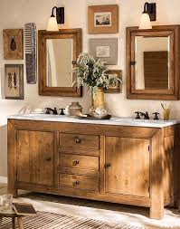 a bathroom that u0027s rustic chic and features our stella bath