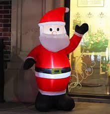 amazon com fashionlite 4 feet christmas xmas inflatable santa