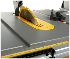 dewalt table saw review dewalt dw745 review portable table saw
