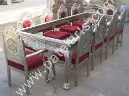 Silver Dining Table And Chairs Silver Dining Set Dining Table Silver Dining Sets Manufacturers