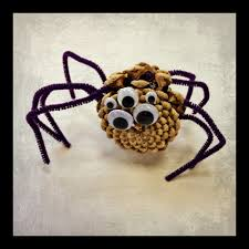 crafting with kids pinecone spiders mansfield richland county
