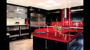 kitchen design red and black extraordinary all dining room