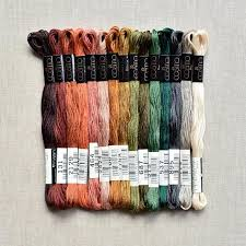 lade flos prezzi cosmo s embroidery floss palette earth tones 15 pcs the