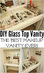 Makeup Vanity Ideas For Small Spaces 21 Diy Makeup Organizing Solutions That U0027ll Change Your Whole
