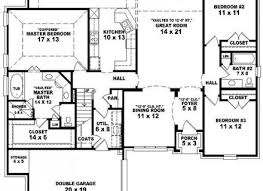 large ranch floor plans large ranch style house plan notable plans with basement split
