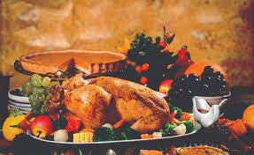a bountiful thanksgiving buffet at woodland