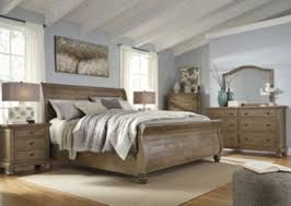 Sleigh Bed Set Trishley 4 Sleigh Bedroom Set Homemakers