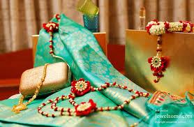 kalpana rajesh and flower jewelry jewelsome