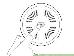 Green Light On Smoke Detector How To Change The Batteries In Your Smoke Detector 15 Steps