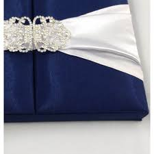 blue wedding invitations midnight blue silk wedding invitation box with clasp