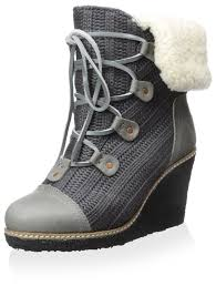 womens grey ankle boots australia amazon com australia luxe collective s mona lace up wedge