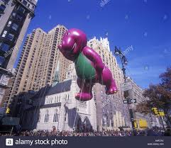 barney balloon lyons partnership macy thanksgiving day parade
