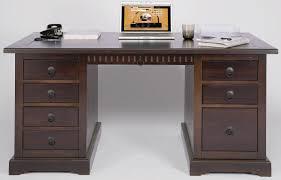 Schreibtisch Mit Schubladen Demeyere 1001 Schreibtisch Aristote 3 Schubladen Und 1 Nischen