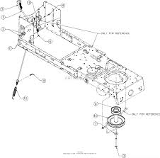 mtd 13w277ss031 lt 4200 2016 parts diagram for manual pto