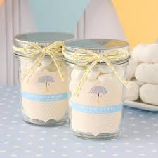 jar baby shower personalized baby shower mini jars