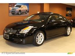 nissan altima coupe 3 5 se 2008 nissan altima 3 5 se coupe in super black 117322
