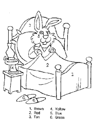 easter pages to color coloring pages