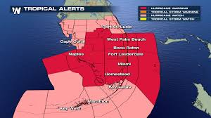 Key Largo Florida Map by Hurricane Storm Surge Warning Issued For South Florida