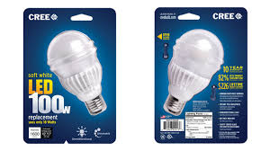 cree u0027s new 100w led bulb looks like a bulb and it u0027s just 20