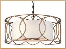 Drum Chandelier Lighting Pendant Lighting Drum Shade Chandelier Home Design Ideas