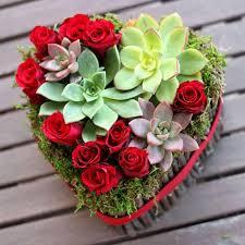 Floral Arrangement Easy Valentine U0027s Day Flower Arrangements Southern Living