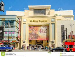 home theater los angeles dolby theatre in hollywood boulevard los angeles editorial image
