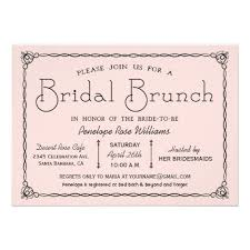 brunch bridal shower invites personalized wedding shower brunch invitations