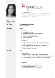 Resume Skills And Abilities Examples Resume Cv Form Cv Format Free Cv Templates In Word Format Free