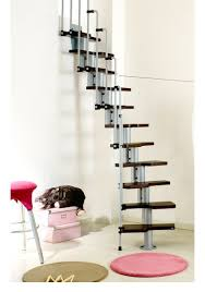 stair artistic space saving spiral staircase design with dark