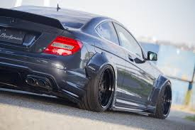 ricer vs tuner liberty walk mercedes benz c63 amg coupe