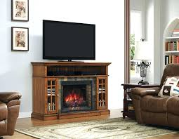 Oak Electric Fireplace Classic Flame Oak Electric Fireplace Stand Media Console