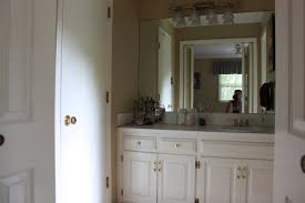 Bathroom Vanities For Less by Painting Master Bathroom Vanity With Chalk Paint All Things New