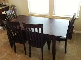 Painted Kitchen Tables Kitchen Wonderful Narrow Dining Table Round Dining Table For 6