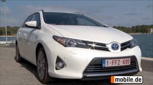 toyota mobile home test toyota auris 2 generation ab 2013 mobile de auto test