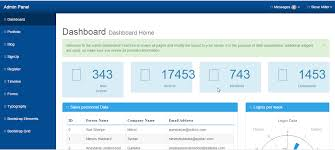10 free bootstrap admin dashboard templates and themes techfolks net