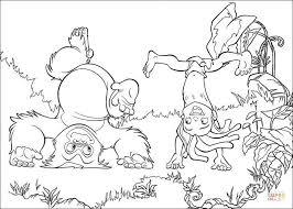 tarzan terk playing coloring free