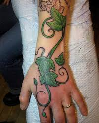 41 best vine tattoos on hand images on pinterest vine tattoos