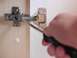 Repair Cabinet Door Hinge How To Adjust Cabinet Doors Doors Kitchens And House Repair