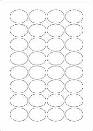 eu30020 25mm circle blank label template blank a4 label