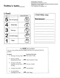 big problem little problem worksheet adapted from social thinking
