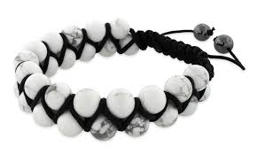 shamballa beads bracelet images Howlite bead 2 layer shamballa bracelet jpg