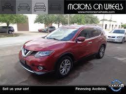 Nissan Rogue 2015 - 2015 nissan rogue sl for sale in houston tx stock 15140