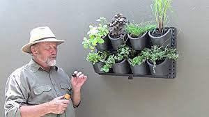 plant u0026 flourish vertical garden youtube