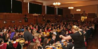Hogwarts Dining Hall by Transformed Into Hogwarts To Mark 20 Years Of Harry Potter