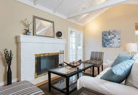How To Resurface A Brick Fireplace by How To Paint A Brick Fireplace Bob Vila