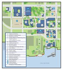 Usa Campus Map by Wilmington Campus Map Cape Fear Community College