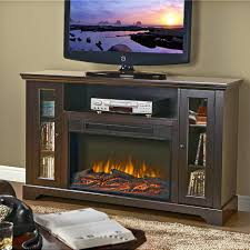 tv stand fascinating electric fireplace tv stand entertainment