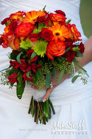 wedding flowers autumn picture of stunning fall wedding bouquets