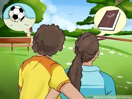 3 ways to get along with siblings wikihow