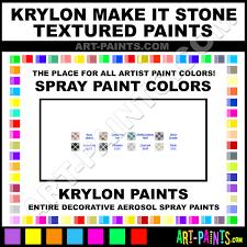 Krylon Textured Spray Paint - krylon make it stone textured spray paint aerosol colors krylon